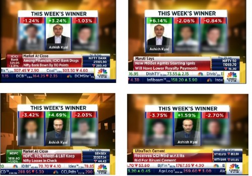 Consecutive 4th time Winner CNBC TV 18 Bull's Eye Trade Show