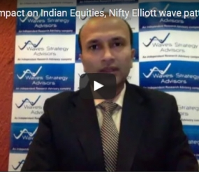#BREXIT Impact on Indian Equities, Nifty Elliott wave pattern